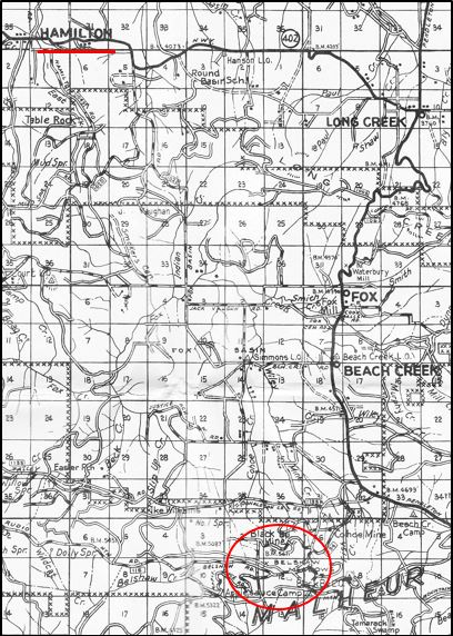 Grant Co Map