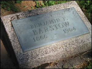 Barstow gravestone