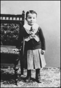 Eugene Leonard as child