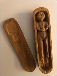 G Robbins carving